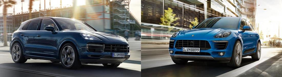 2018 Porsche Macan vs 2017 Porsche Macan