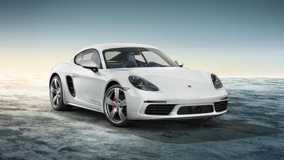 Exterior Features of the New Porsche 718 Cayman at Garber in Rochester, NY