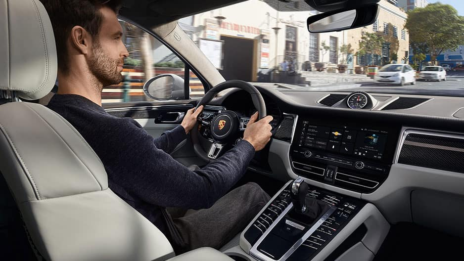 Interior Features of the New Porsche Macan at Garber in Rochester, NY