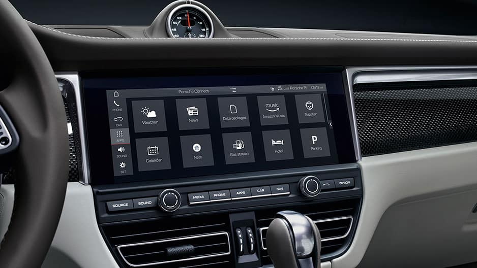 Technology Features of the New Porsche Macan at Garber in Webster, NY