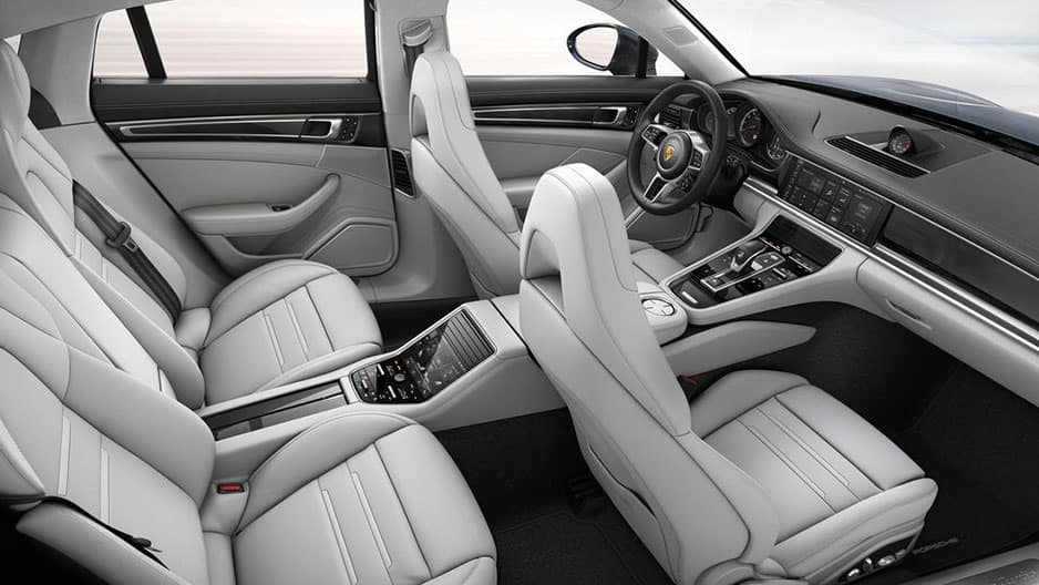 Interior Features of the New Porsche Panamera at Garber in Rochester, NY