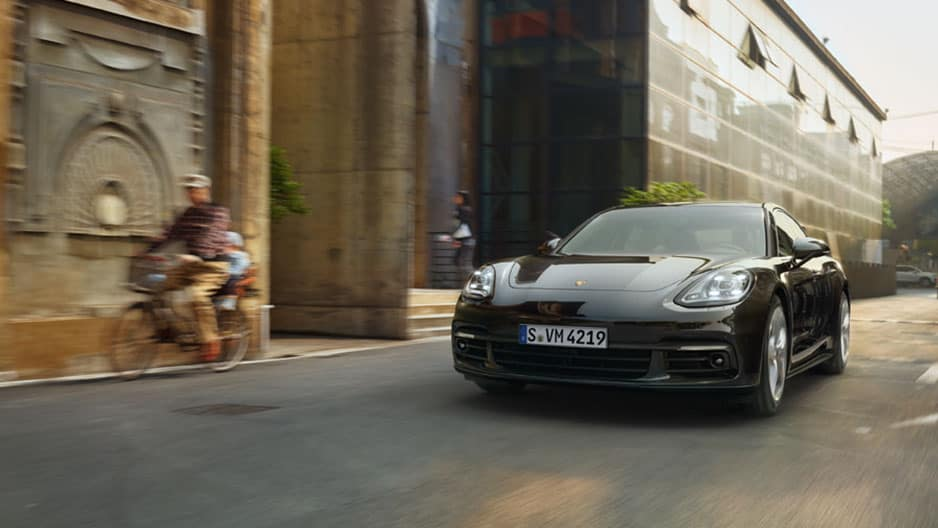 Safety Features of the New Porsche Panamera at Garber in Webster, NY