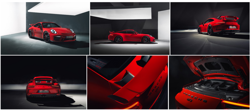 New 911 GT3 RS Photos