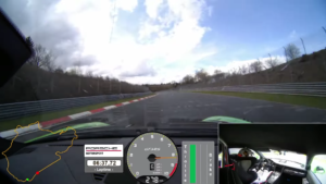 New 911 GT3 RS sets a lap time of 6:56.4 min at the Nürburgring