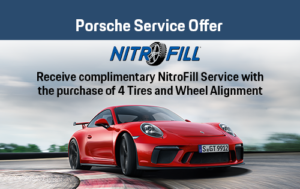 Porsche NitroFill Service Offer