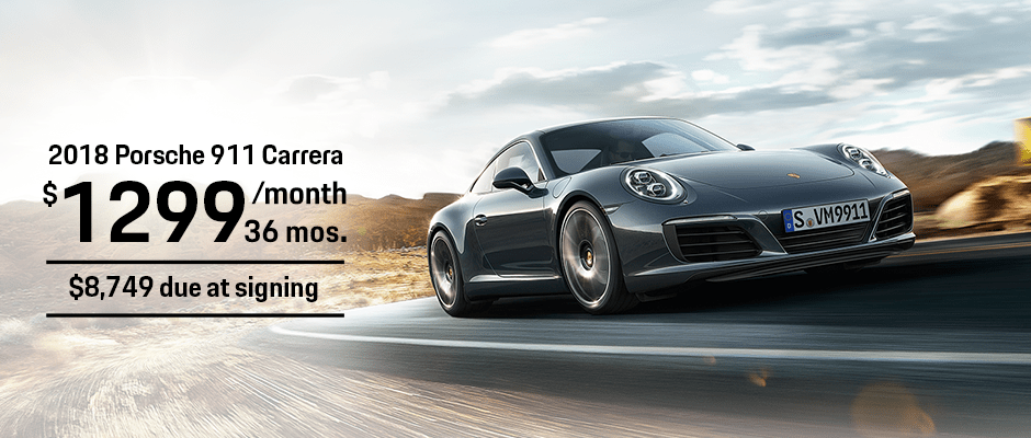 New 2018 Porsche 911 Lease Offer