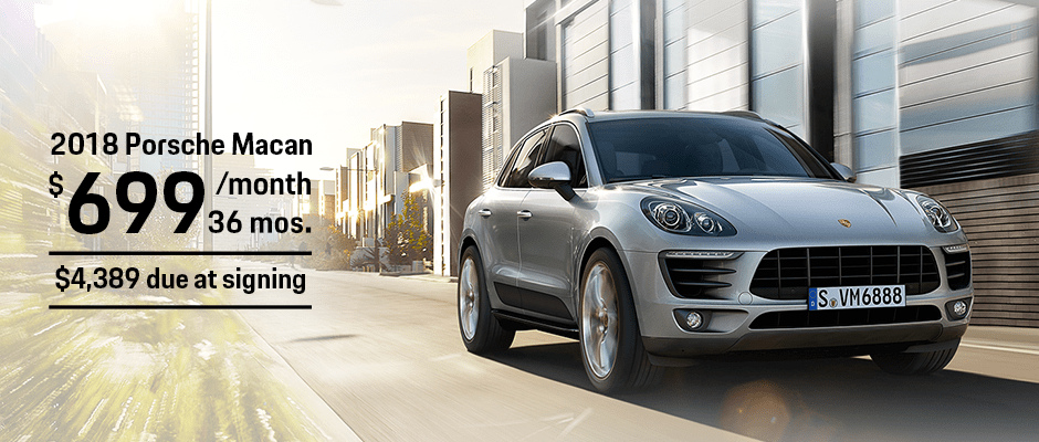 New 2018 Porsche Macan Lease Offer