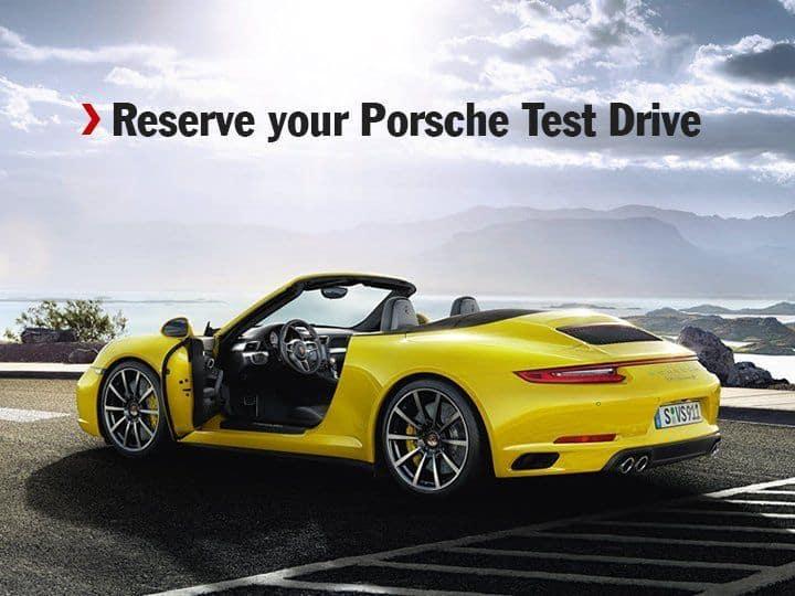 Test Drive a Porsche