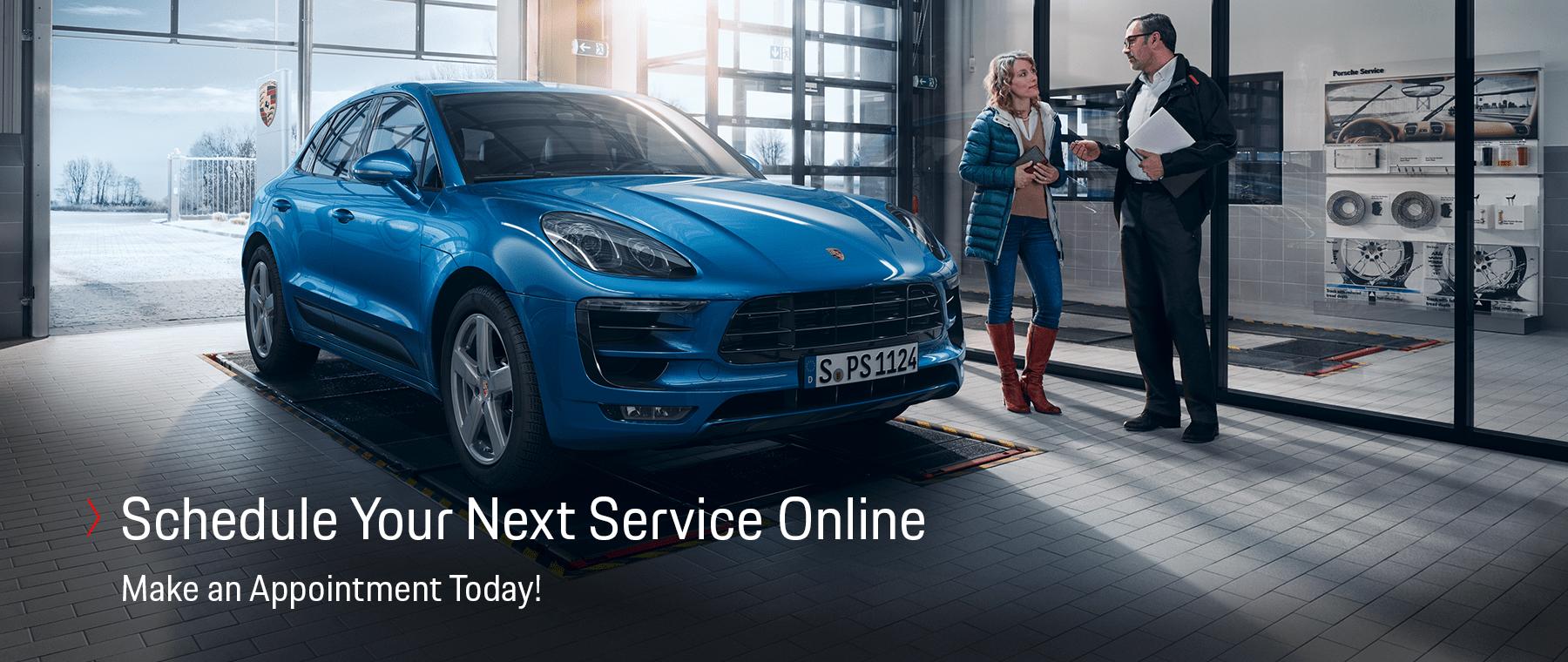 Schedule Your Porsche Service