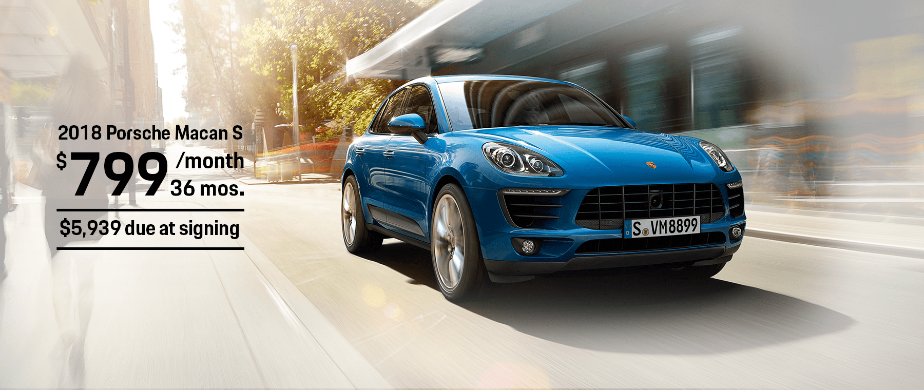 Porsche Macan S Lease Offer