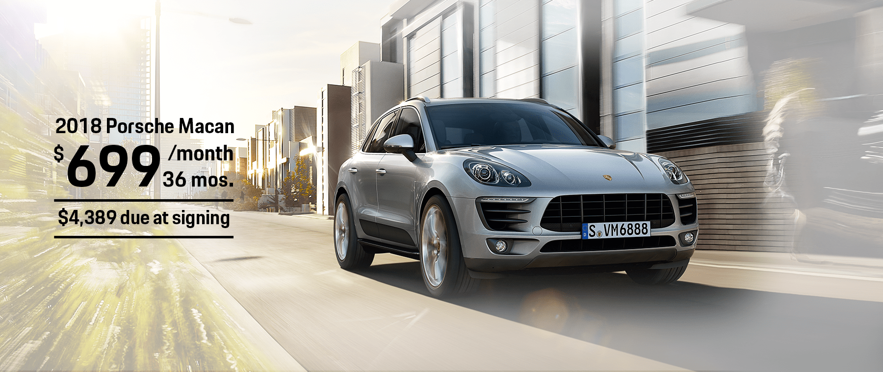 Porsche Macan Lease Offer