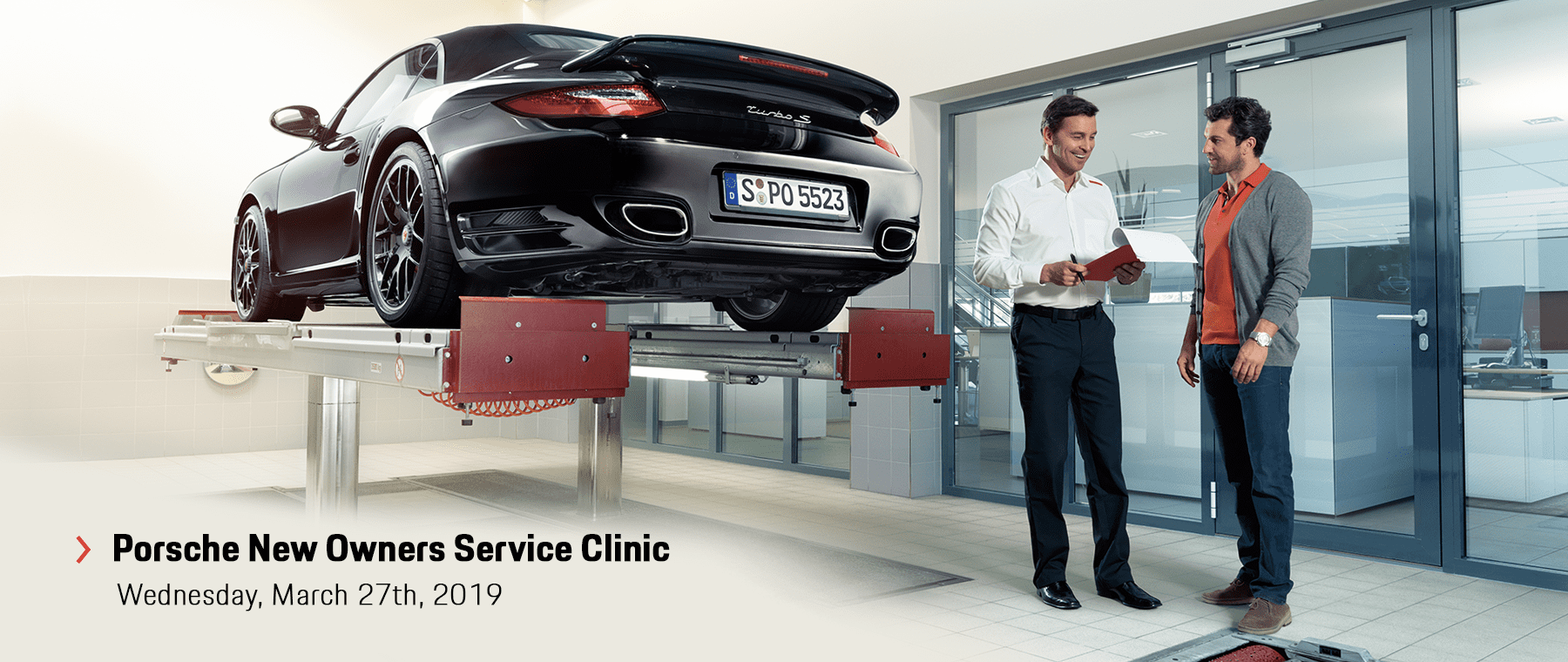 Porsche New Owner's Service Clinic