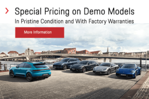 Special Pricing on Demo Models