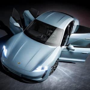 Porsche Taycan Electric Car