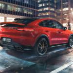 The HOT Porsche Cayenne Coupe SUV