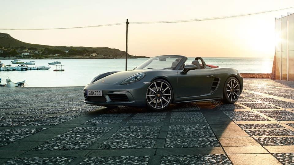 2017 Porsche 718 At Dusk