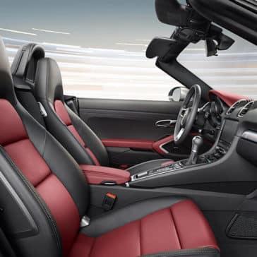 2017 Porsche 718 Seating