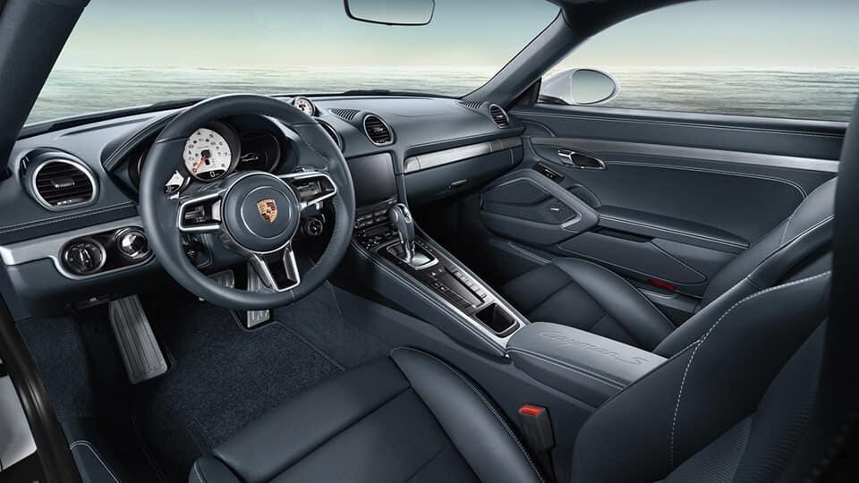 2017 Porsche 718 Interior