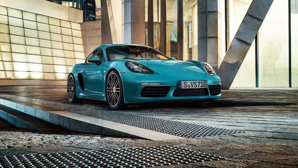 2017 Porsche 718 Parked