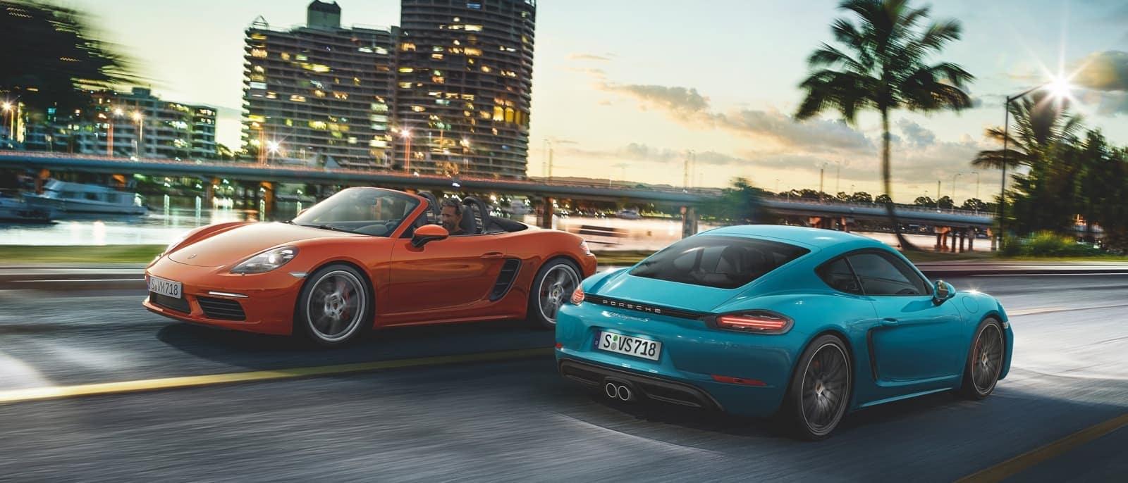 2018 Porsche 718 Boxster exterior models