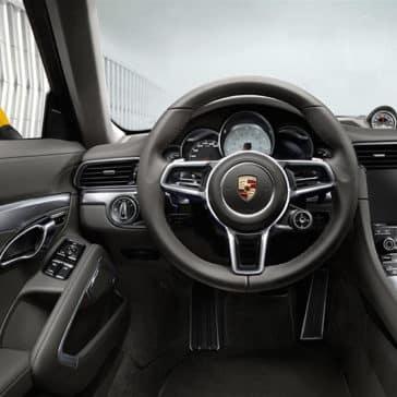 2018 Porsche 911 Dash