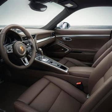 2018 Porsche 911 Cabin