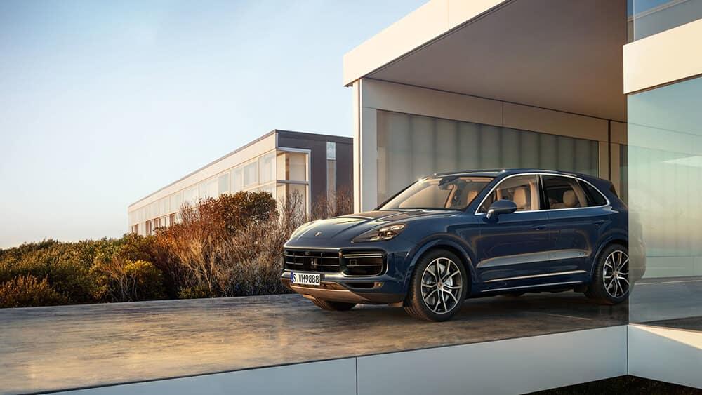 2018 Porsche Cayenne Parked