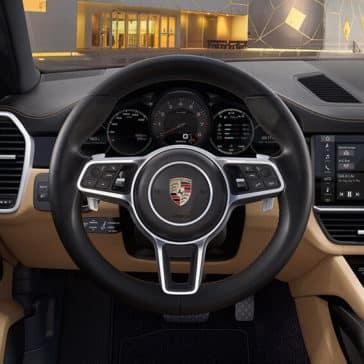 2018 Porsche Cayenne Dash