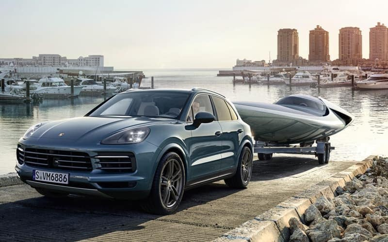 2018 Porsche Cayenne Turbo Towing Capabilities