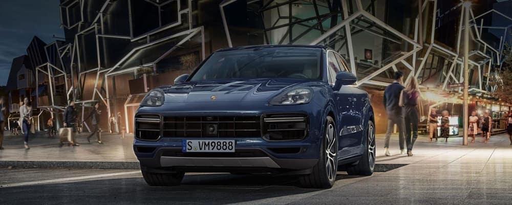 2018 Porsche Cayenne Turbo exterior