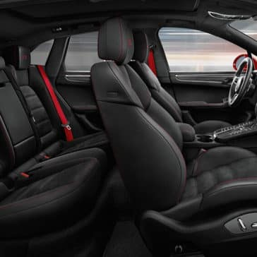 2018 Porsche Macan Seating