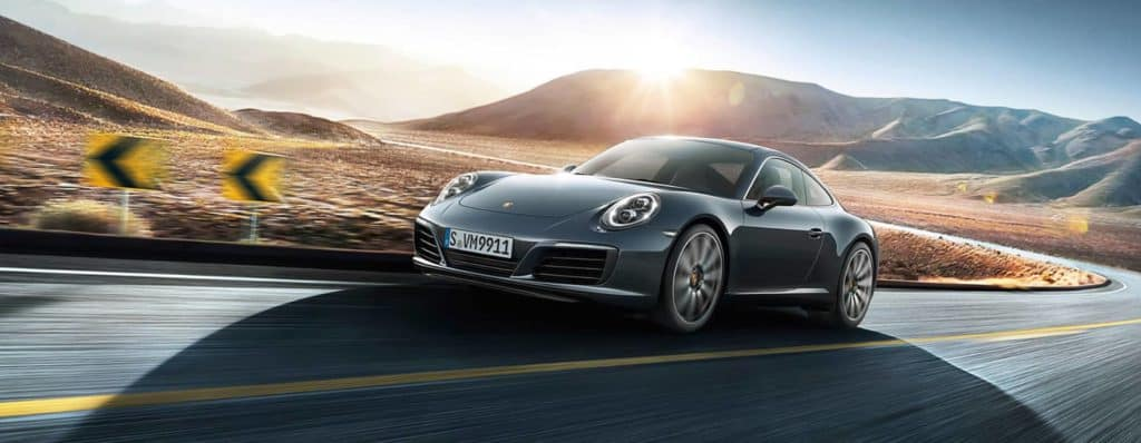 2018 Porsche 911 Carrera Driving
