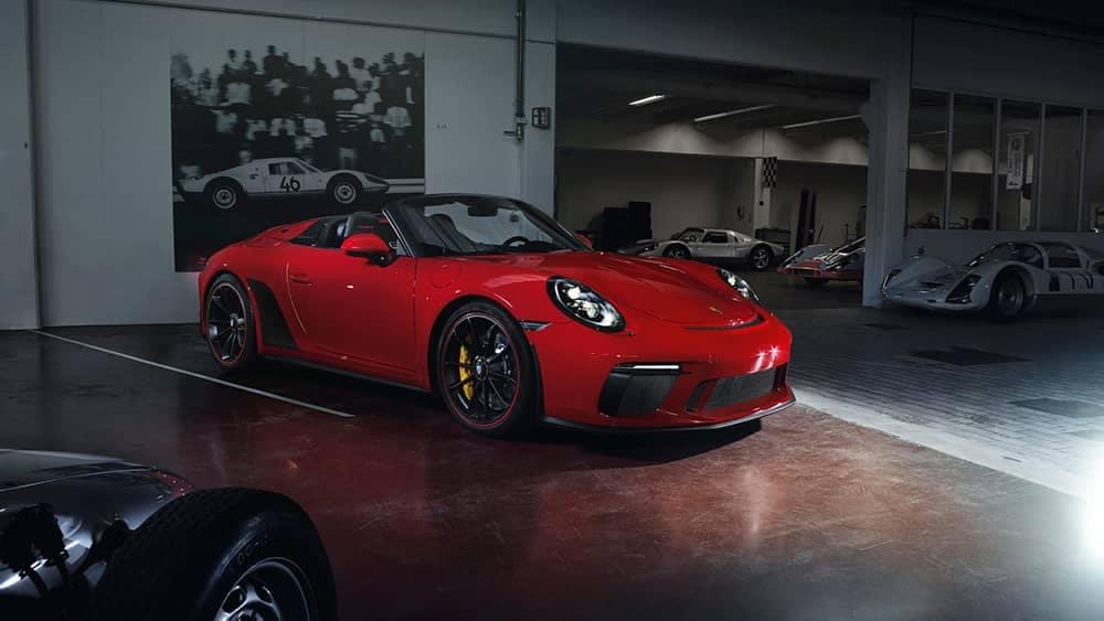 2020 Porsche 911 In Garage