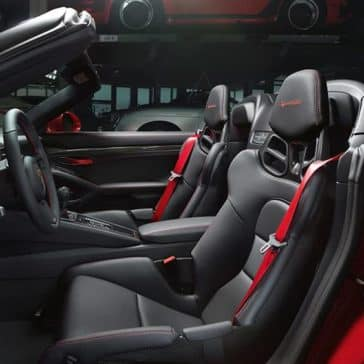 2020 Porsche 911 Seating