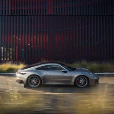 2020 Porsche 911 Side View
