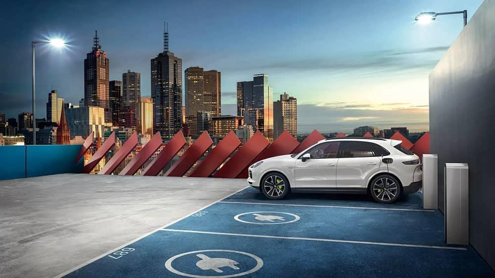 2020 Porsche Cayenne Parked