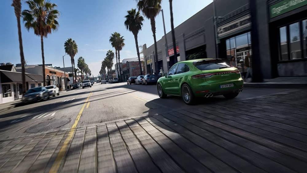2020 Porsche Macan Rear