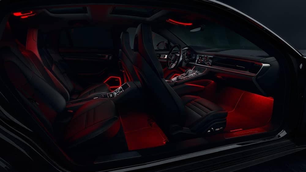2020 Porsche Panamera Ambient Lighting