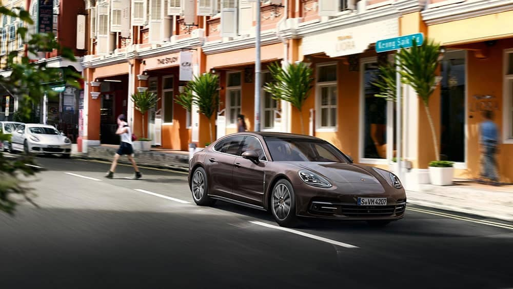 2020 Porsche Panamera Driving