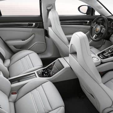 2020 Porsche Panamera Seating