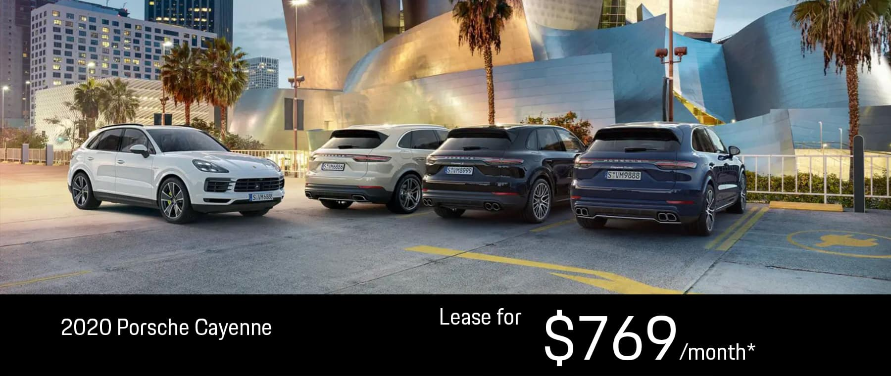 Oct 2020 Cayenne Lease
