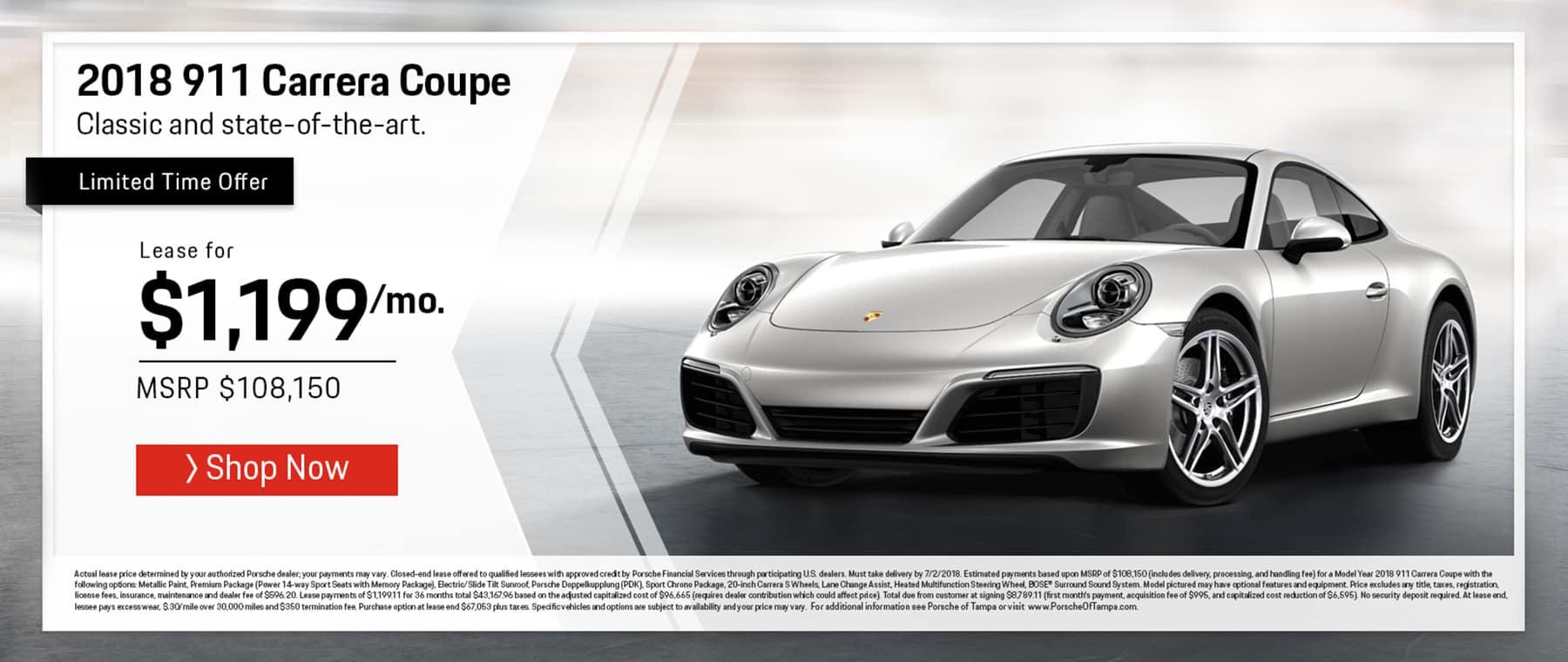 Porsche June 911 Offer