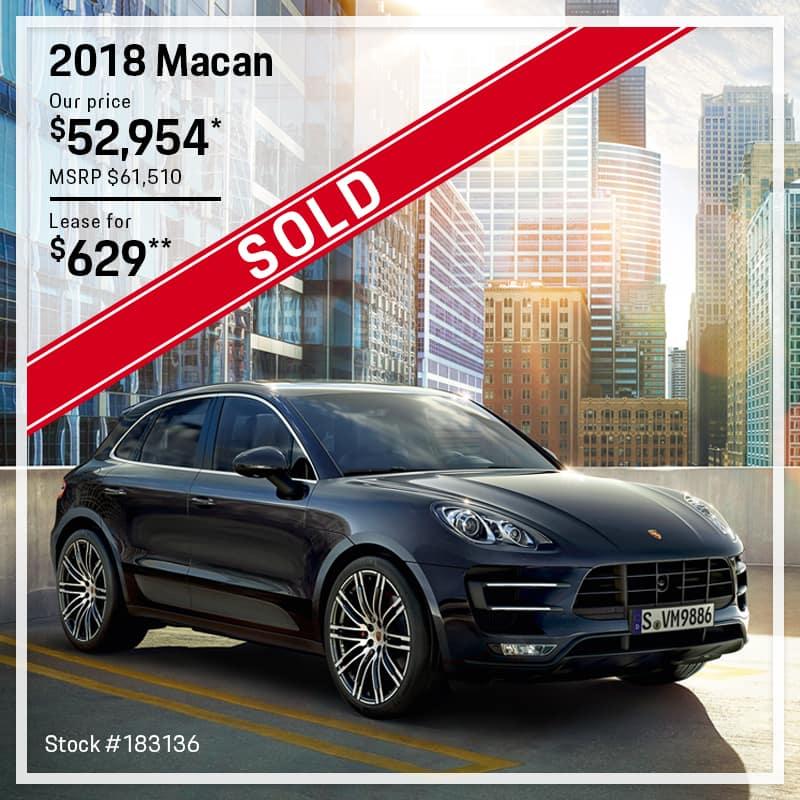 Porsche Macan Offer