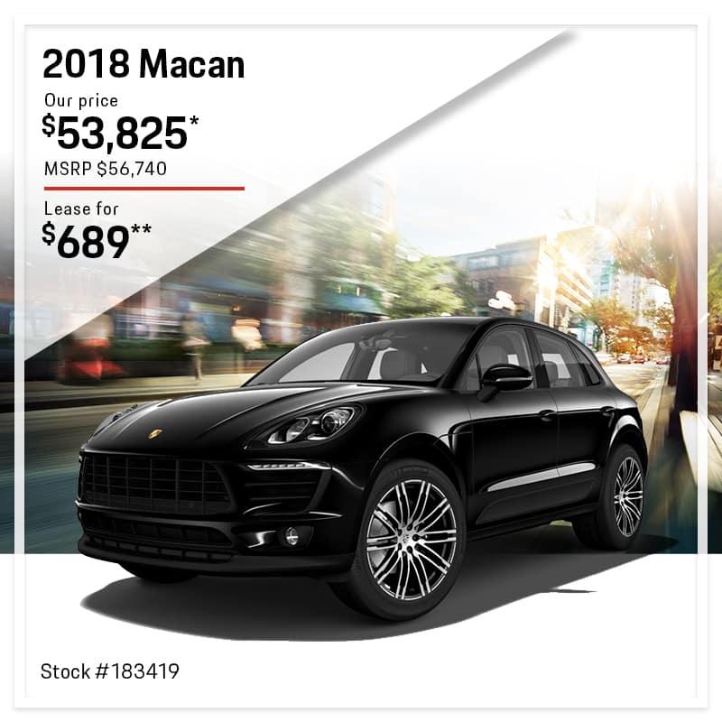 July Porsche Macan Special