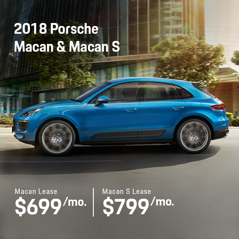 2018 Macan Lease Offer
