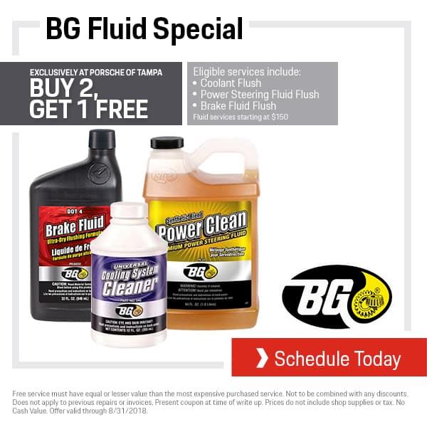 August Porsche BG Fluid Special