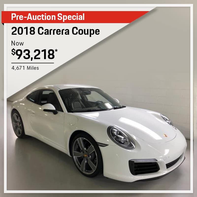 2018 Porsche Carrera Coupe