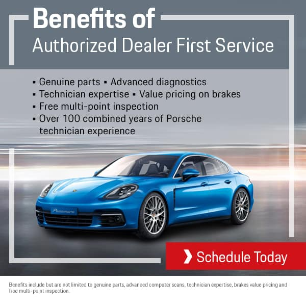 Porsche First Service Benefits