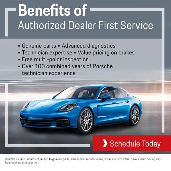 Porsche Service Benefits