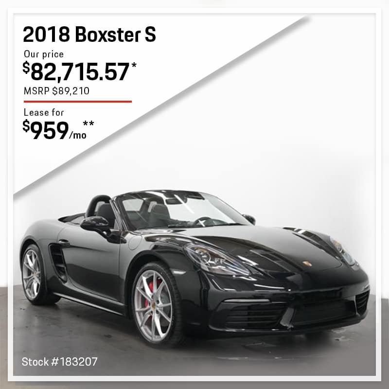 2018 Boxster S